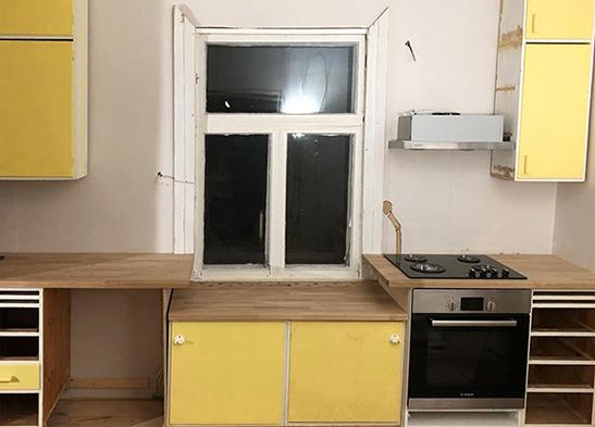 Pienremontit kotiin toimistoon: keittiöremontti